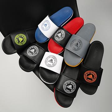 Dép Adidas Plus logo tròn