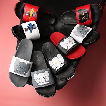 Dép Adidas Plus x Kaws Nữ