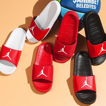 Dép Jordan Break Đỏ