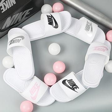 Dép Nike Benassi Trắng Nữ
