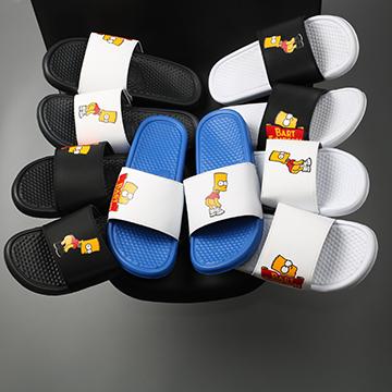 Dép Nike Benassi x Bart Simpson