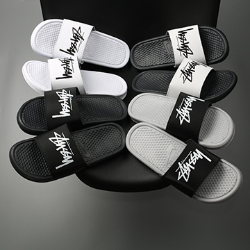Dép Nike Benassi x Stussy