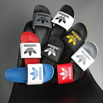 Dép Plus Adidas logo 3 lá nhỏ