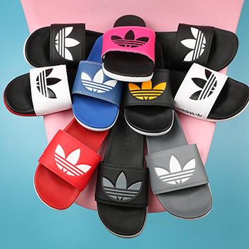 Dép Plus nữ Adidas 3 lá lớn
