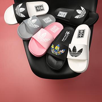 Dép Nữ Adidas 3 lá lớn nữ