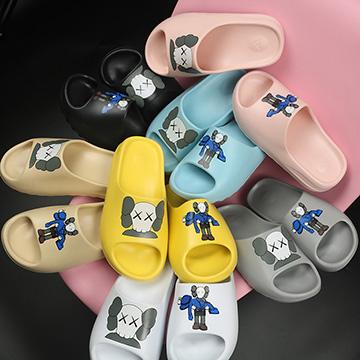 Custom Yeezy Slides x Kaws